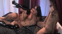 Fetish - they play threesome with Lack & Leathe...