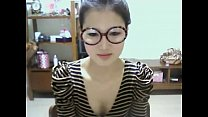 Cute Korean Girl Shows Off on Webcam - WebCamSt...
