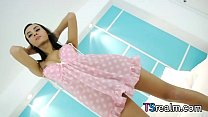 Asian Tgirl Aor Enjoys Getting Herself Off