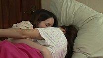 Lesbian PJ parties - American pornstars in pajama [레즈비언 lesbian]