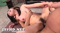 Hard Asian Ass Fucking In A Threesome With Nozomi Hazuki