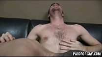 Straight guy sucking and fucking for money