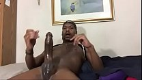 Black cock cumming