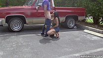 Latina Sucking Dick in Parking Lot - 69VClub.Com