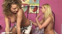 Pleasured Sirens by Sapphic Erotica - sensual lesbian sex scene with Vanesa and