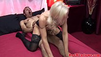 15682 Mature european hooker in heels and stockings preview