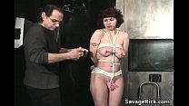 Vivian is hot MILF who ends tied