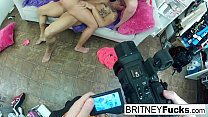 Make-up room sex breaks out between some pornstars Thumbnail