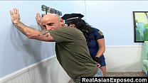 Realasianexp osed – Police Asian Bitch Can't Resist A Rock Hard Dick
