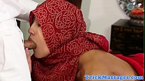 Image: Arab beauty fucked on the massage table