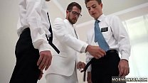 Fuck teacher at school boy gay Elders Garrett and  Xanders walked