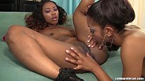 Sexy Black Girl s Lez Out Hardcore  ore