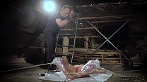 9658 Rough bondage slapping her pussy and the slave screams preview