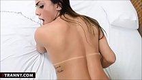 Sexy TS Mylena Blowjob And Anal Fucking