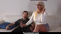 6829 BadMILFS - Step-Daughter Shares Cock With Busty Milf preview