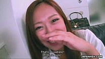 Cute Asian smelling the dick http://www.xxxtubees.com