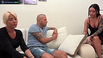 Blanche Summer, Nilla and Tiffany Rousso enjoys swingers sex party
