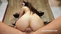 Melissa Rel Welcome to Porn with Balls Deep Anal, Manhandle, Gapes and Cum in the Mouth GL138