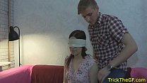 Real russian gf assfucked in front of her bf
