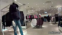 Stunning czech kitten was teased in the mall and poked in pov porn thumbnail