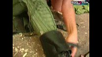 13202 Beautiful army pilot in love - sex video preview