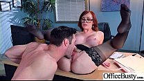 Sex Action In Office With Big Round Tits Slut Girl (Dani Jensen) vid-29's Thumb