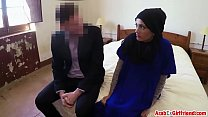 Beautiful Arab wife left by husband decided to sold her shaved tight p-for-sex-3 thumbnail