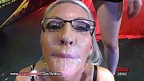 Busty Mature Emma Starr Cum Hungry in Germany - German Goo Girls