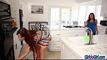 Amari Romani seduce her stepmom Syren Demer into lesbian sex