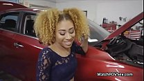 Ebony gf cheats with mechanic Preview