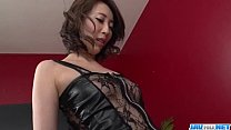 Aya Kisaki Wife In Lingerie Blows A Big Dick In Pov