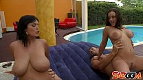 Jasmine Black and Liza del Sierra Poolfucking thumb