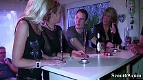 Three German MILFs seduce Young Guy to Fuck in ...