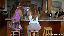 Image: Double Booty goodness - Keisha Gray and Eva Lovia