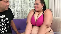 Fat porn star Becki Butterfly fucked hard