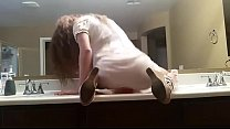 6217 Dirty Talking Girl Bathroom Dildo   WWW.LUSTSLUT.COM preview