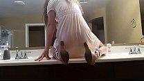 Image: Dirty Talking Girl Bathroom Dildo | WWW.LUSTSLUT.COM