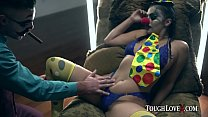 TOUGHLOVEX Violet Starr lets JokerX stuff her p...