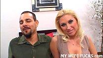 Watch your wife riding a big pornstar cock Image