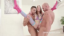 Anna De Ville & Lara De Santis - Generation Battle - Teen Vs MilF - No Limits! porn image