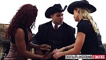 DigitalPlayground - Rawhide Scene 5 Jasmine Webb and Jessa Rhodes and Juan Lucho thumbnail