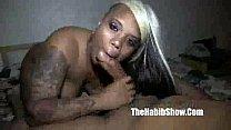 Goddess tattooed peirced chi town hood bitch fucked by bbc redzilla P2