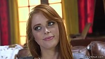 Redhead beauty anal fucked in bdsm