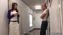 Rei Kitajima had to fuck the dude to keep his mouth shut