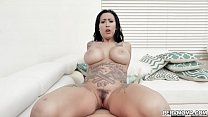 Stepson loves eating his stepmoms ass and fucking her!