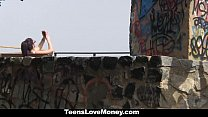 TeensLoveMoney - Hot Latina Gets Fucked Outdoors thumbnail