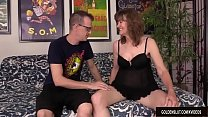 Mature Strumpet Babe Morgan Blows and Bangs a Younger Guy - 9Club.Top