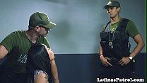 Latina teen fucked by border security