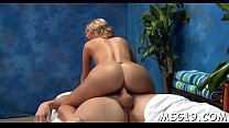Blondie team-fucked in a massage room pornhub video