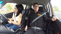 Fake Driving School Ebony American minx Kira Noir craves cock creampie - 9Club.Top